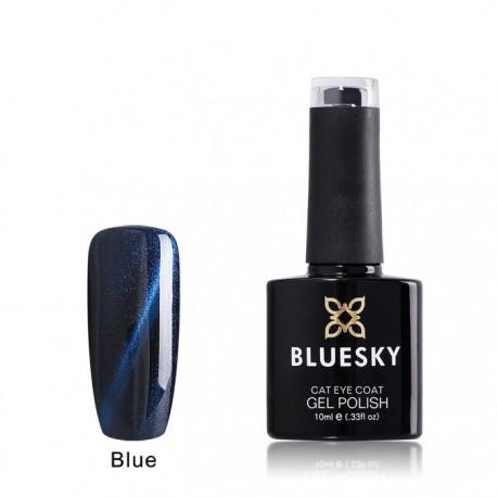 Esmalte permanente BLUESKY cat eye coat blue