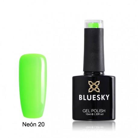 Esmalte permanente BLUESKY NEON 20