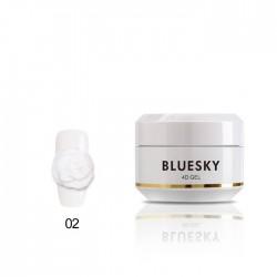 Plasteline Gel 4D Blanco
