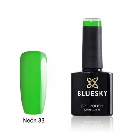 Esmalte permanente BLUESKY NEON 33