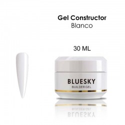 Gel constructor BLUESKY 30 ml. Blanco