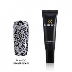 Esmalte Stamping Gel - BLANCO