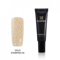 Esmalte Stamping Gel - GOLD