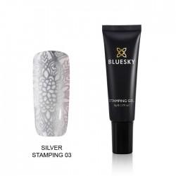Esmalte Stamping Gel - SILVER