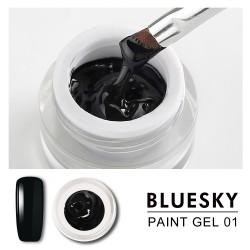 Paint gel negro