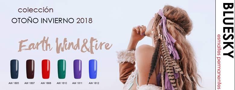 esmaltes permanentes BLUESKY - nueva colección invierno 2018